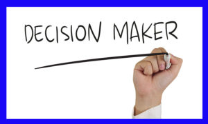 Locating Decision Makers
