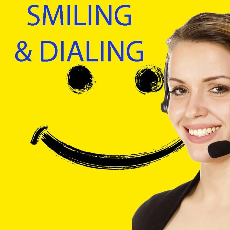 Smiling While Dialing for Successful Sales Calls